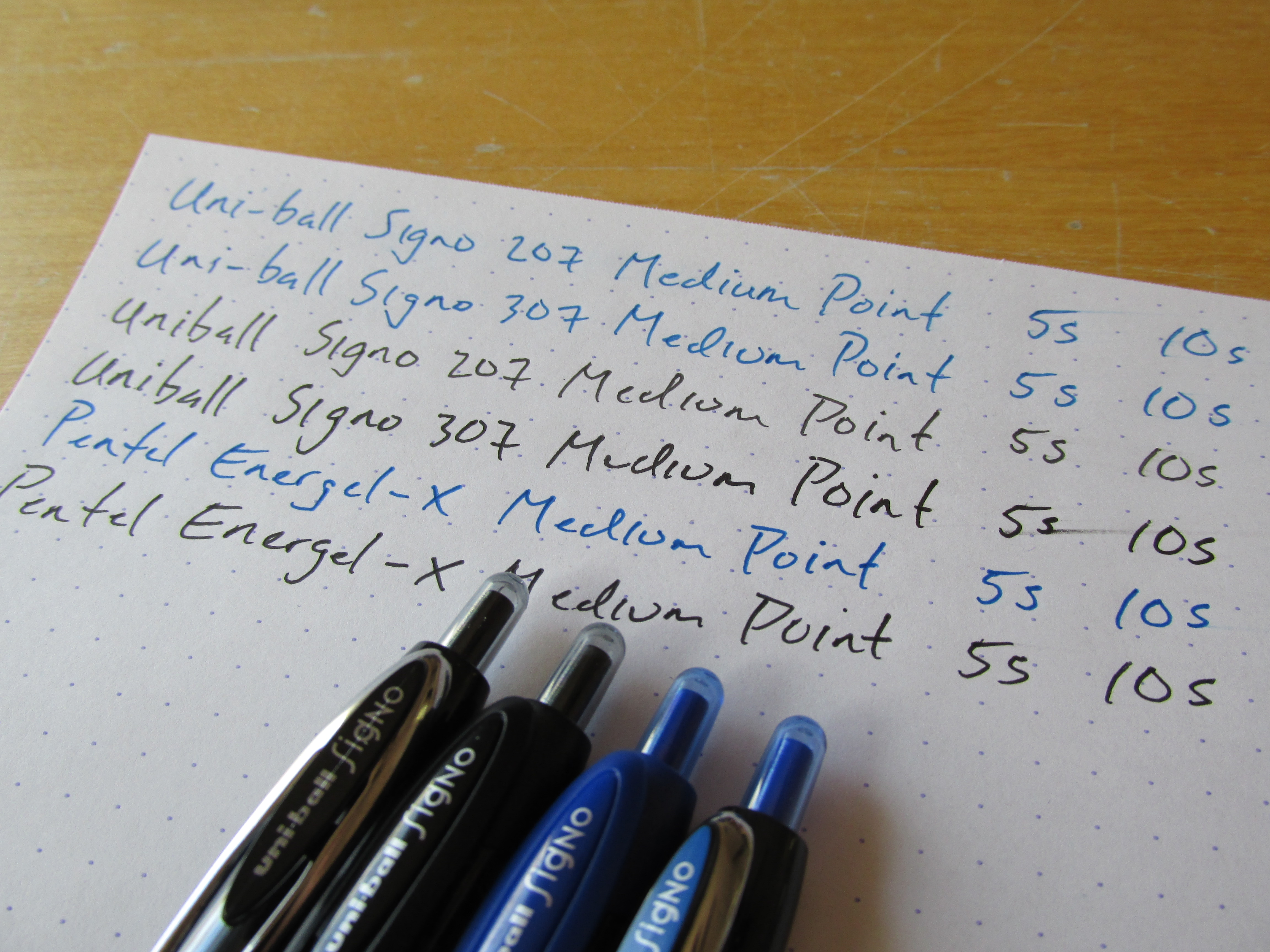 Todd Page 4 That One Pen Circuit Board Rollerball And Ink Nerd Gift Uniballsigno307a